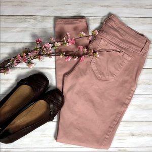 Old Navy Pink Rockstar Super Skinny Jeans Sz 8